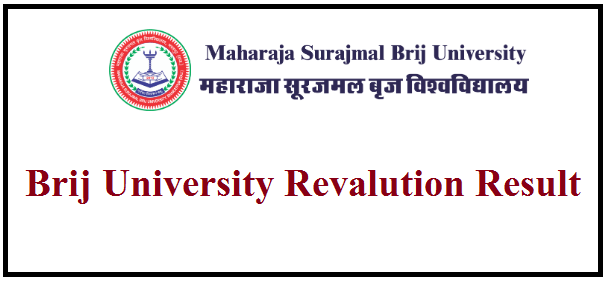 Brij University Revaluation Result 2019