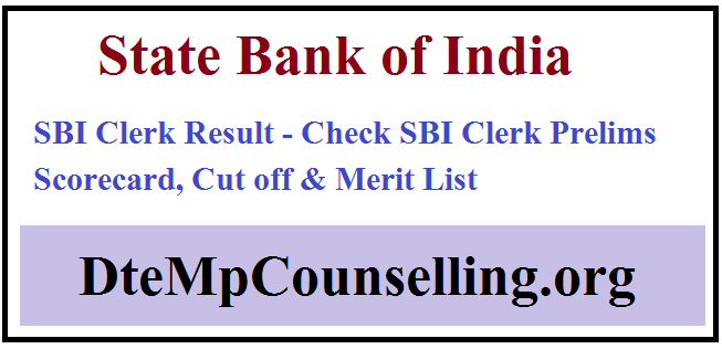 SBI Clerk Result 2019