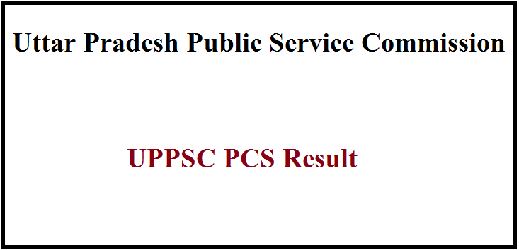 UPPSC PCS Result 2019