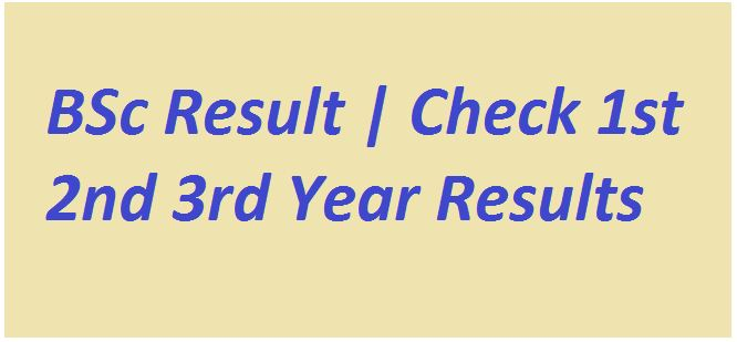 BSc Result 2021